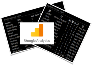 Magic Mirror: Show how your website performs with MMM-GoogleAnalytics