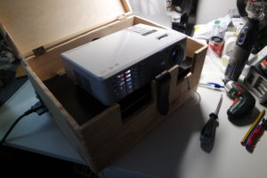 Building a mobile projector box – The Summary